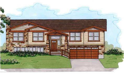 Front Porch Designs For Split Level Homes Split Level Rambler Home Exterior Remodel