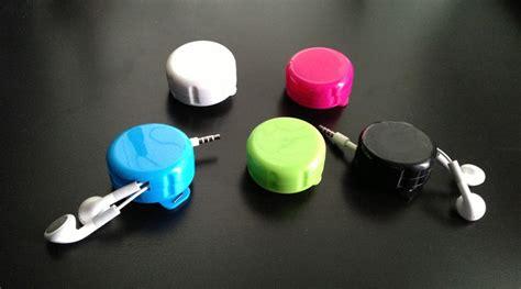 Earphone Cable Organizer icoil headphone cord organizer