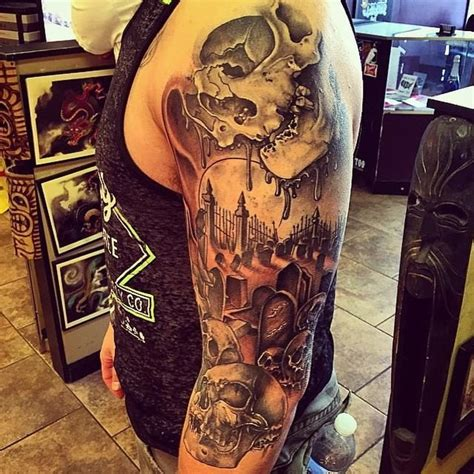 spooky tattoo designs 25 best ideas about graveyard on grim
