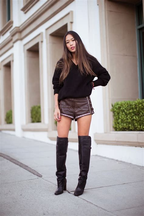 Hm Kemeja Atlantic Fit Xl song of style the knee boots