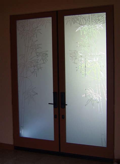 Bamboo Entry Door Glass Inserts Sans Soucie Exterior Door Glass Insert