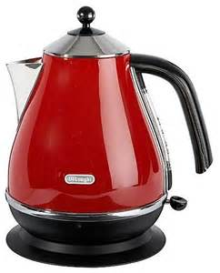 Delonghi Kmix Toaster Delonghi Red Icona Kettle Modern Kettles By House Of
