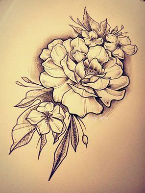fiore designs roses sketch made by taty rosa flowers