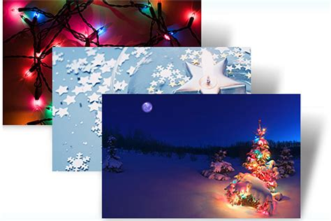 Christmas Themes Pack For Windows 7 | microsoft offers special holiday lights themes to finish
