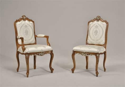 sedie in stile classico sedia capotavolo da pranzo in stile classico idfdesign
