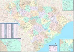 carolina zip code map free south carolina zip code map