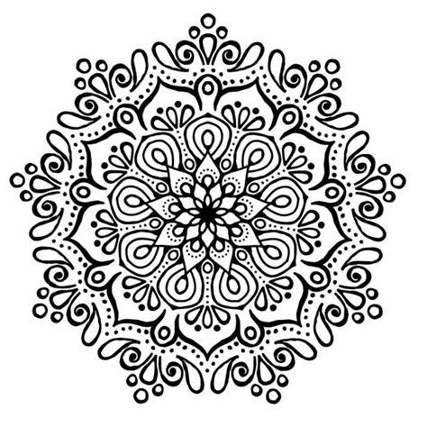 mandala tattoo zum aufkleben mandala ausmalbilder zum drucken zentangle doodles