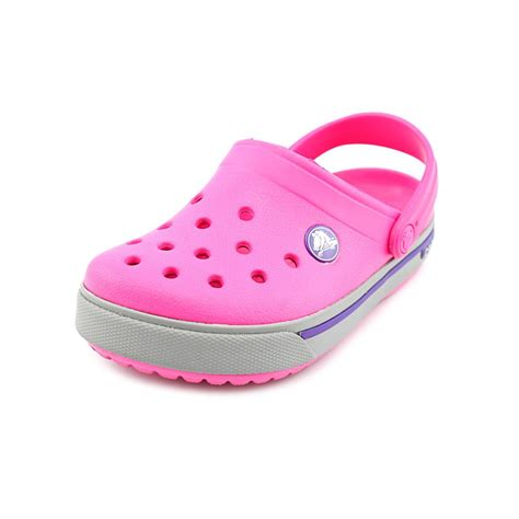 toddler shoes size 10 crocs crocband toddler size 10 pink clogs shoes new