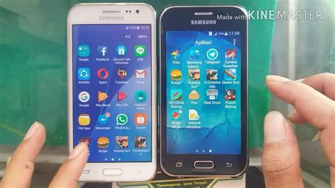 Samsung J1 Dan J2 Samsung Galaxy J2 Vs Samsung Galaxy J1 Ace 2015 Test Speed