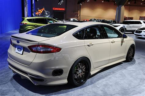 Sleek new Ford Fusion gets hit with SEMA's ugly stick