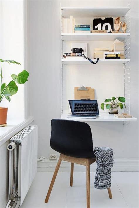 Am 233 Nagement D Un Petit Espace De Travail Le Bureau Style Bureau Nordique