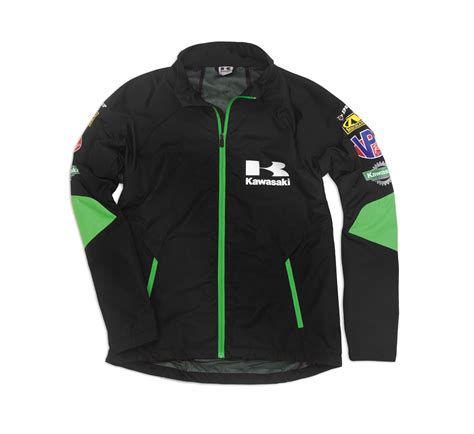 kawasaki jacket race windbreaker