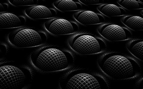 wallpapers  spheres art black spheres  art