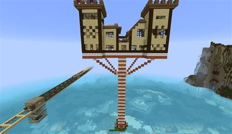 unique feature castles in the air my small castle in the air minecraft project