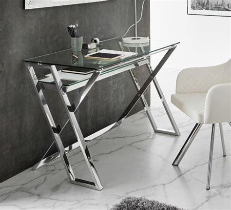 mesa escritorio de acero inoxidable irun mueble funcional