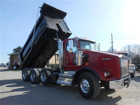 Used 2012 Kenworth T800 Dump Truck For Sale In Ms 6487