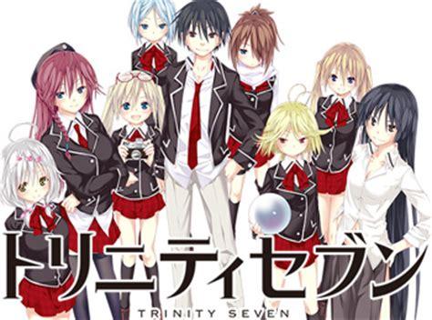 wallpaper anime trinity seven trinity seven nuovo trailer per l anime cm news