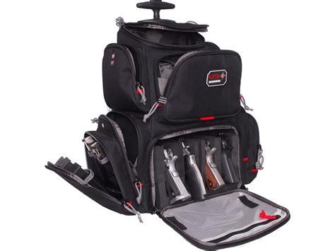 backpack range bag g p s rolling handgunner backpack range bag black