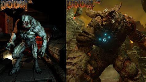 Original Ps4 Doom Reg 2 doom 3 vs the new doom 4 graphics comparison