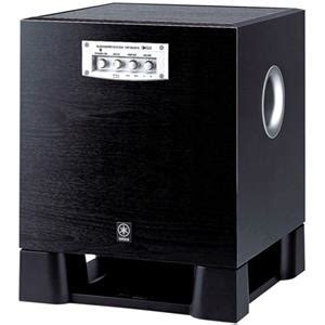 Yamaha Yst Sw315 By Audio One ystsw315bl yamaha yst sw315 10 quot 250w powered subwoofer 20