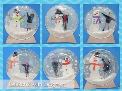 Snow Globe Craft For Kids - lessons with laughter snow globes
