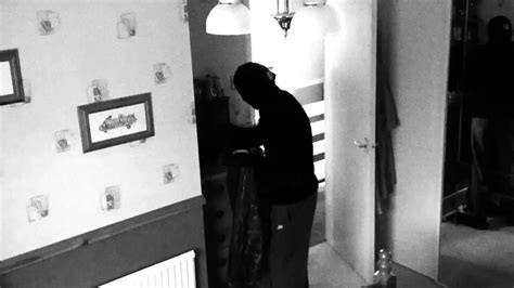 robbing a house cctv of a masked man robbing my house youtube