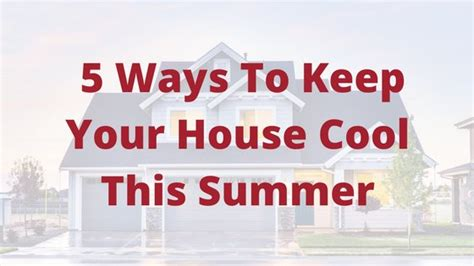 Ways To Keep House Cool by Admin Author At Air Boca