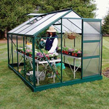 small backyard hobby greenhouse gardening