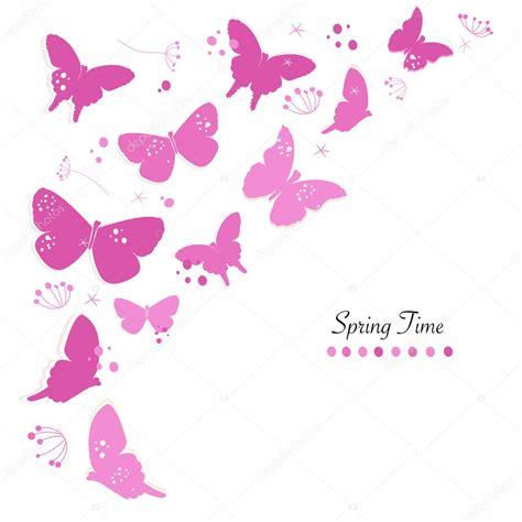 imagenes de mariposas color rosa mariposas color rosa dise 241 o abstracto flores primavera