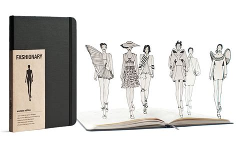 design clothes notebook fashion dictionary diary in your pocket mage design