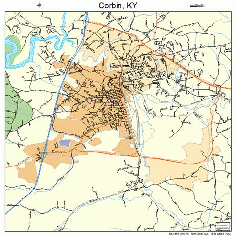 kentucky map corbin corbin ky pictures posters news and on your