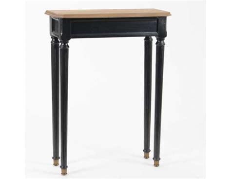 Supérieur Meubles D Entree Ikea #2: petite-console-d-entree-noire-60-cm.jpg
