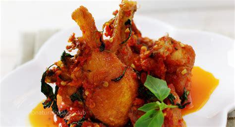 natural cooking club ayam balado kemangi