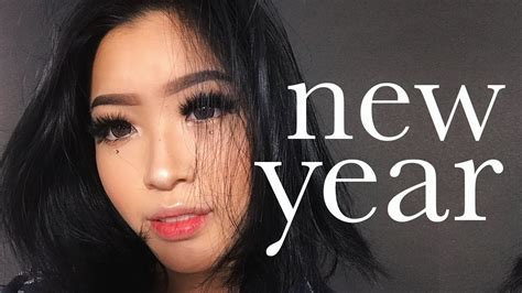 simple makeup for new year easy new year makeup marcella febrianne