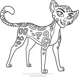 disegno fuli lion guard da colorare