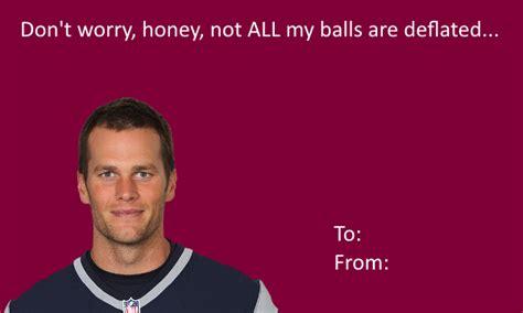 valentines day card meme template tom brady s card deflategate your meme