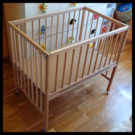 Sleeper Crib sniglar crib co sleeper ikea hackers ikea hackers