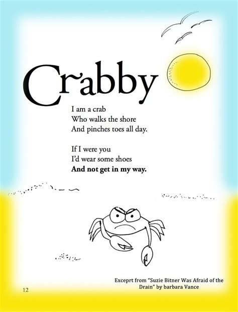 9 Great Things About Summer by Summer Children S Poem About A Crab On The