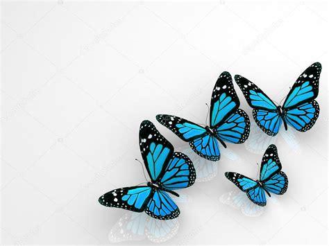imagenes en 3d hermosas grupo de hermosas mariposas 3d foto de stock 65869289