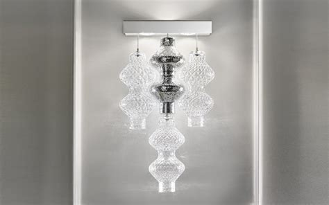 zafferano illuminazione parete zafferano bespoke glass lighting