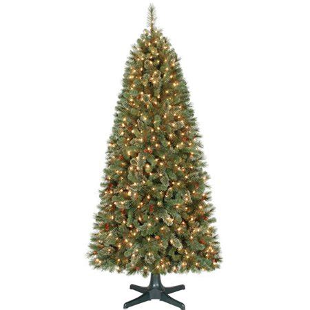 walmart online shopping pencil prelit trees time 7ft brookfield fir tree clr walmart