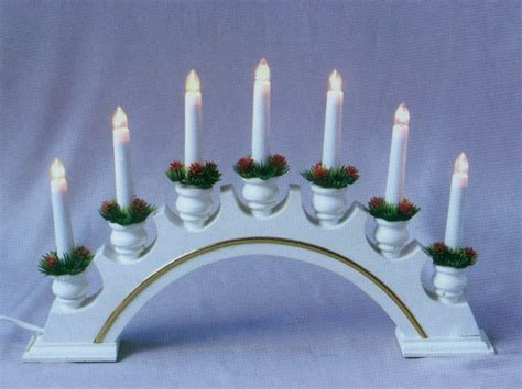 bridge candle lights metal tube lights
