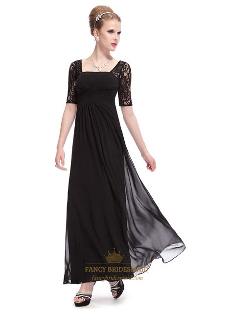 black homecoming dresses with sleeves black prom dresses with lace sleeves black lace sleeve
