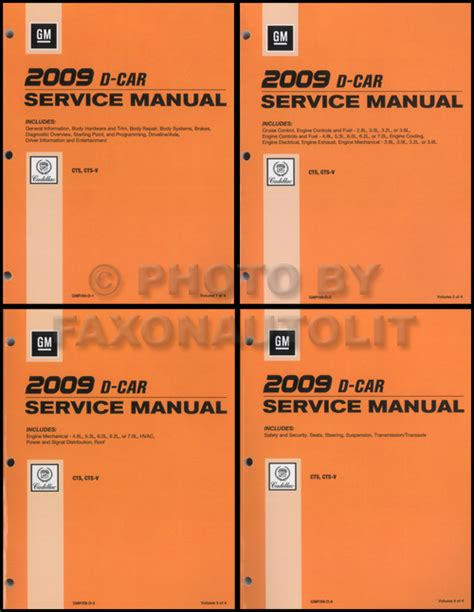 what is the best auto repair manual 2008 bmw x6 navigation system 2009 cadillac cts and cts v repair shop manual 4 volume set original