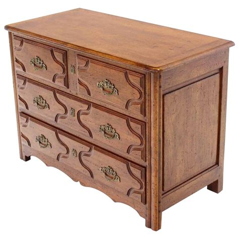 Chest Of Drawers Wood by Solid Wood Three Drawer Chest Of Drawers For Sale At 1stdibs