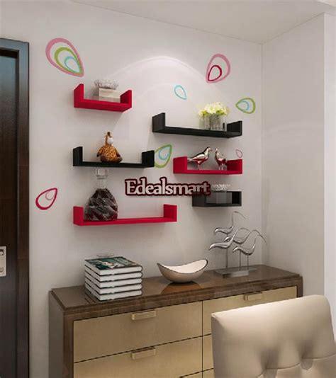 Floating Shelf Bentuk Frame 3 Pcs 3pc floating u nesting wall shelf display decor mount ledge storage l m s size ebay
