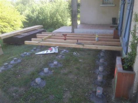 terrasse pvc nivrem terrasse bois plot beton pvc diverses id 233 es