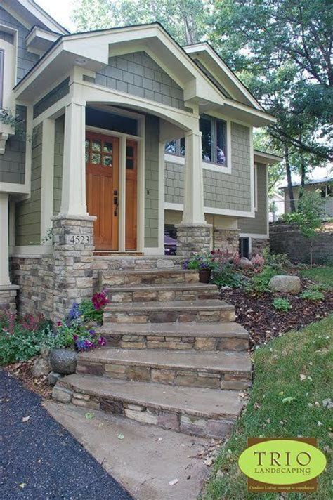 front steps stone front steps and stones on pinterest