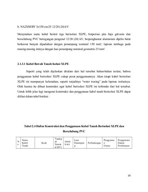 Kabel Xlpe 3x150 Kabel Bawah Tanah Dan Sambungan Kabel Syamsir Abduh