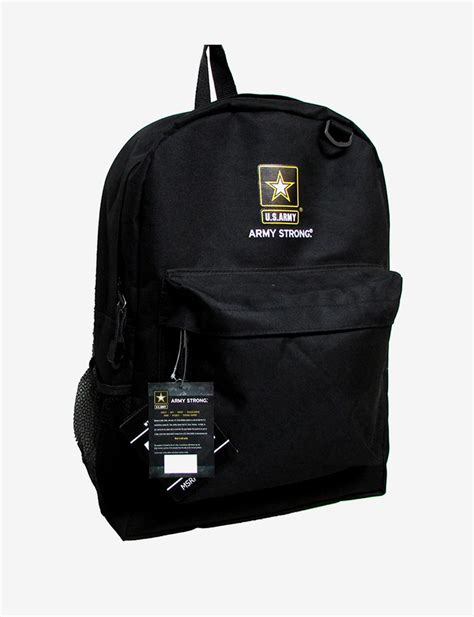 army backpack black u s army black backpack stage stores